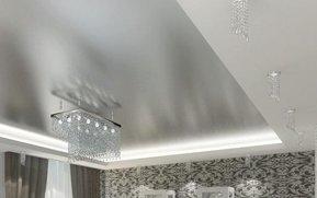 фактура металлик натяжной потолок