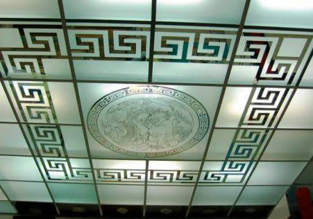 матовые подвесные потолки