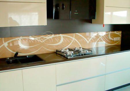 панели с рисунком для кухни