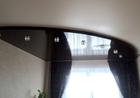 скрытый потолочный карниз для натяжного потолка