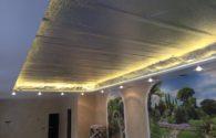 Установка натяжных потолков в квартире в Балашихе 41 м²