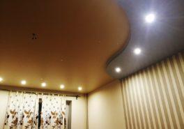 Установка потолков в квартиру площадью 79 м²
