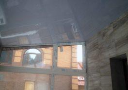 Установка натяжного потолка в частном доме площадью 18 м²