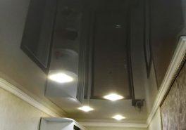 Натяжные потолки Polyplast с перламутровой фактурой в Мытищах