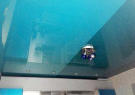 Установка натяжного потолка на кухню в Балашихе 13 м²