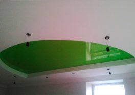 Потолки из бельгийской плёнки Polyplast для коттеджа