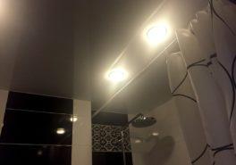 Установка двухуровневых потолков в квартире площадью 65 м²