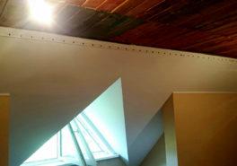 Тканевые натяжные потолки в Салтыковке 185 м²