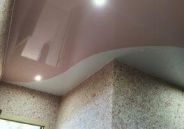 Установка натяжного потолка в коридоре площадью 12 м²
